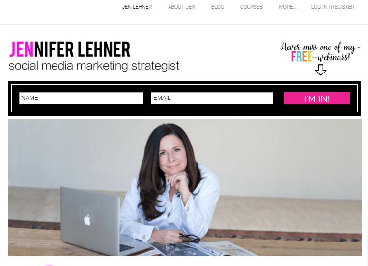 Jen Lehner website