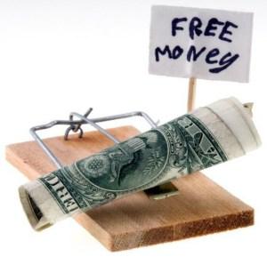 Free Money - Scam