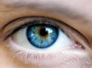 A healthy looking eye