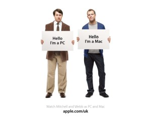 The UK Get a Mac campaign