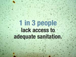 One in Three People Lack Access to Adequate Sanitation