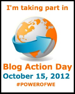 Blog Action Day - The Power of We