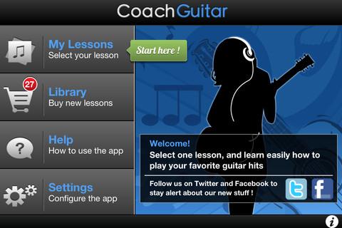 Coach Guitar Navigation