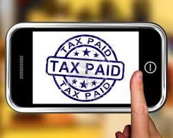 A Tax Paid Phone