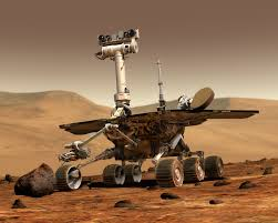 Mars Rover on Holiday