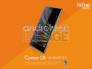 Upgrade Tecno C8 to Android HiOS marshmallow