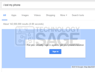 find your lost Android or iOS device