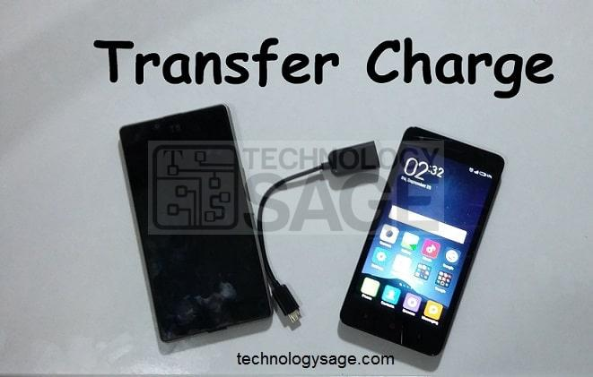 How To Charge Android Phone Using Another Phone