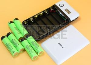 Build Power Bank Using Old Laptop Battery