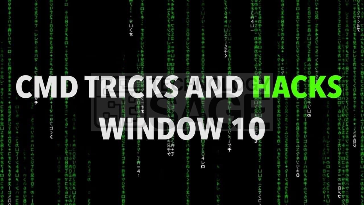 Amazing CMD or Command Prompt Tricks and Hacks for Windows 10