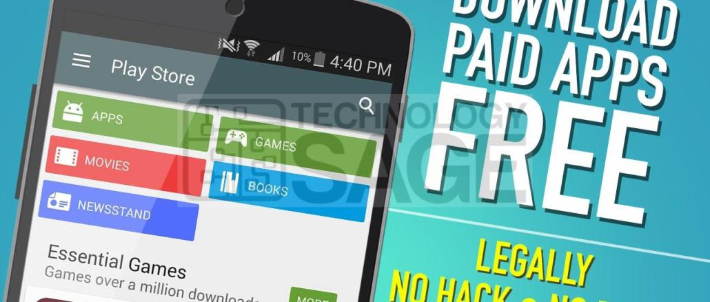 Download Paid Google Play Apps For Free