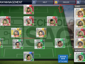 get unlimited cash and coins in Dream League Soccer for free
