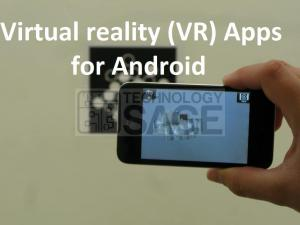 Virtual reality (VR) Apps for Android