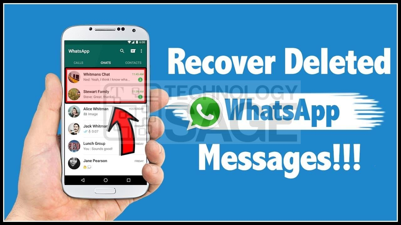 How To Read, View or See Deleted Messages On WhatsApp