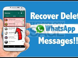 Read, View or See Deleted Messages On WhatsApp