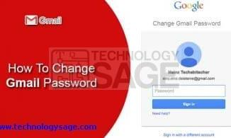 How to change-gmail-password