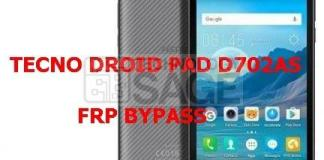 TECNO DROID PAD D702AS FRP BYPASS