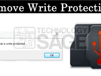 How to remove right protection from USB drives