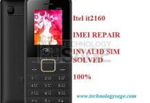 Itel2160 IMEI Repair