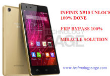 INFINIX X510 UNLOCK AND BYPASS FRP