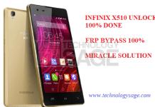 INFINIX X510 UNLOCK AND BYPASS FRP