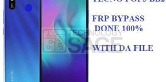 Tecno POP3 BB2 FRP Unlock DA file