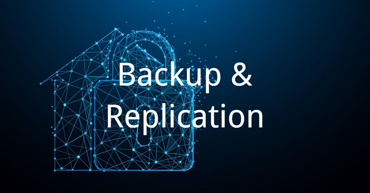 Backup & Replication