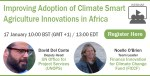 WEBINAR: Improving Adoption of Climate Smart Agriculture Innovations in Africa