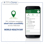 TPL Maps marks wheel chair accessible locations to commemorate World Health Day