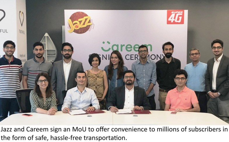 Jazz has collaborated with Careem to offer various promotions to its subscribers throughout the year. Subscribers can use the promo code 'JAZZSUPER4G' when booking a ride