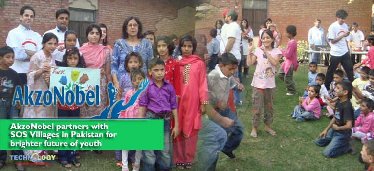 AkzoNobel partners with SOS Villages in Pakistan for brighter future of youth