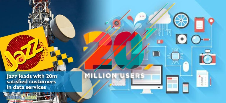 Jazz leads with 20m satisfied customers in data services