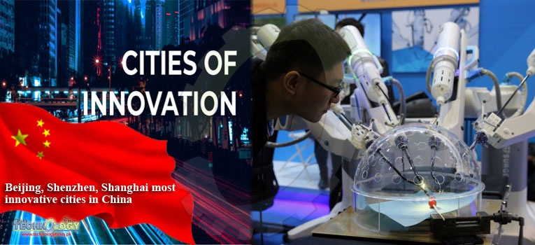 Beijing, Shenzhen, Shanghai most innovative cities in China