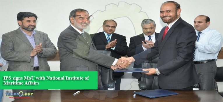 IPS signs MoU with National Institute of Maritime Affairs