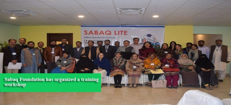 Sabaq Foundation has organized a training workshop