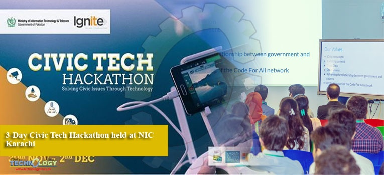 3-Day Civic Tech Hackathon held at NIC Karachi