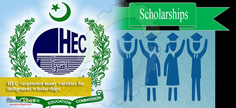 HEC suspended many varsities for indigenous scholarships