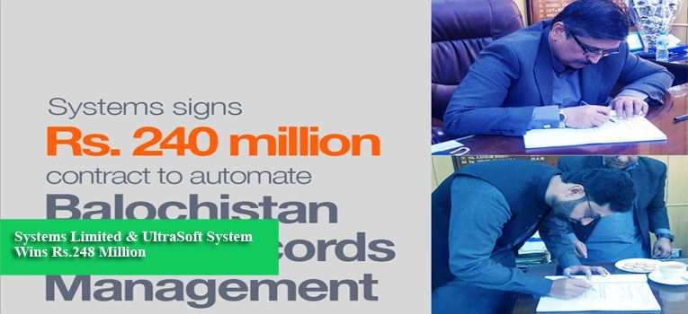 Systems Limited & UltraSoft System Wins Rs.248 Million