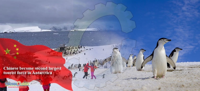 Chinese become second largest tourist force in Antarctica