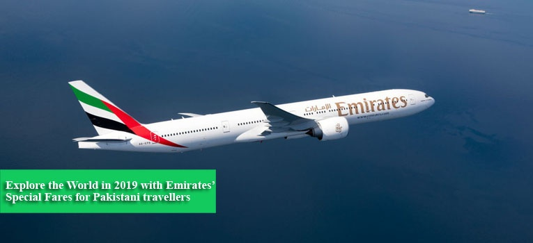 Explore the World in 2019 with Emirates' Special Fares for Pakistani travellers