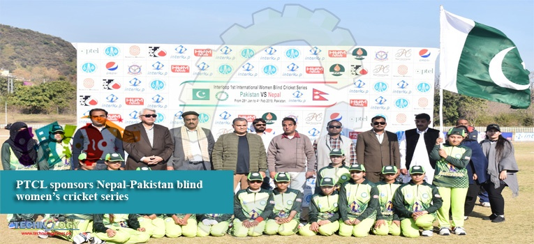 PTCL sponsors Nepal-Pakistan blind women's cricket series