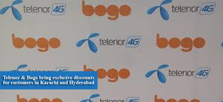 Telenor & Bogo bring exclusive discounts for customers in Karachi and Hyderabad