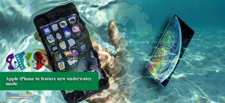 Apple iPhone to feature new underwater mode