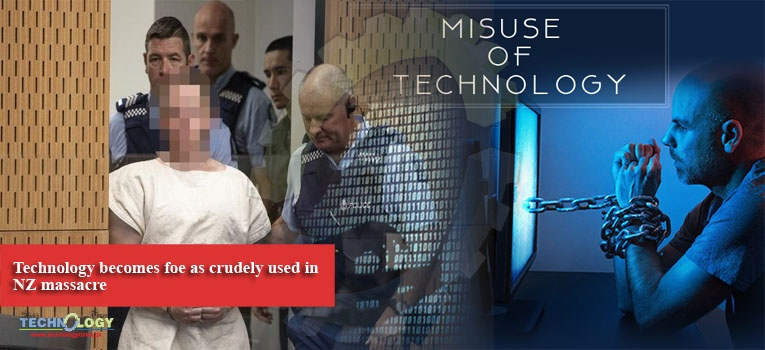 Technology becomes foe as crudely used in NZ massacre