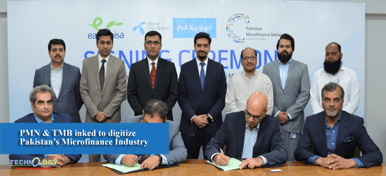 PMN & TMB inked to digitize Pakistan's Microfinance Industry