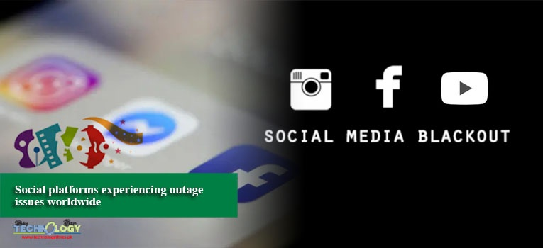 Social platforms experiencing outage issues worldwide