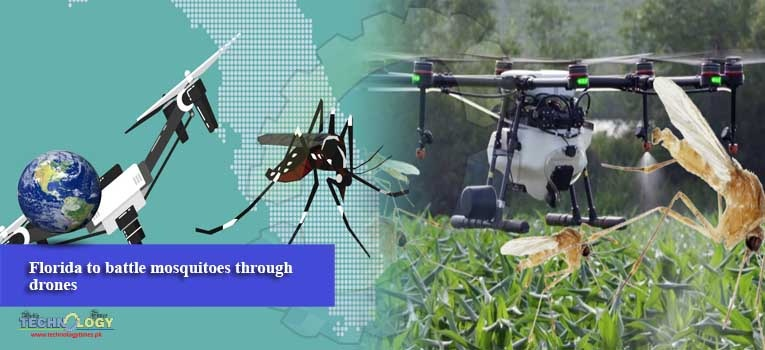 Florida to battle mosquitoes through drones