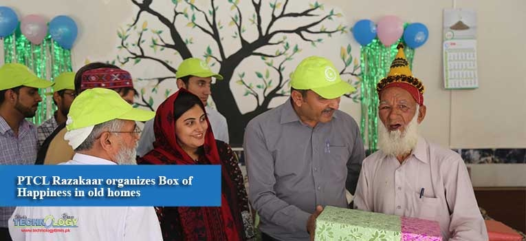 PTCL Razakaar organizes Box of Happiness in old homes