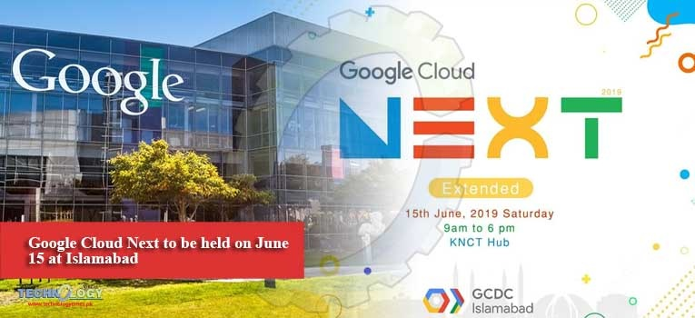 Google Cloud Next to be held on June 15 at Islamabad