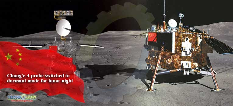 Chang'e-4 probe switched to dormant mode for lunar night